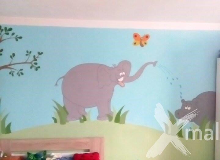 Vymalování dětského pokoje