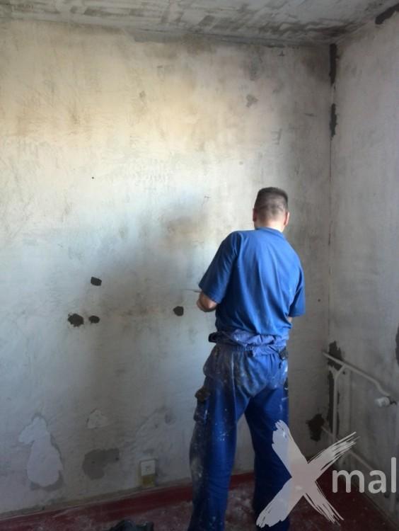 Přípravné práce před štukováním zdí