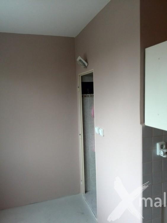 Malování kuchyně v bytě včetně štukování