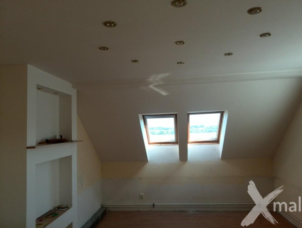 částečná rekonstrukce rodinného domu - horní patro č.4