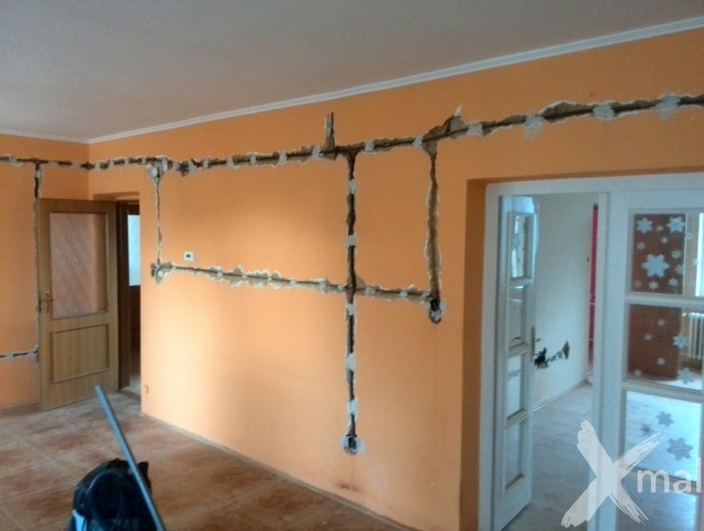 částečná rekonstrukce rodinného domu - spodní patro č.1