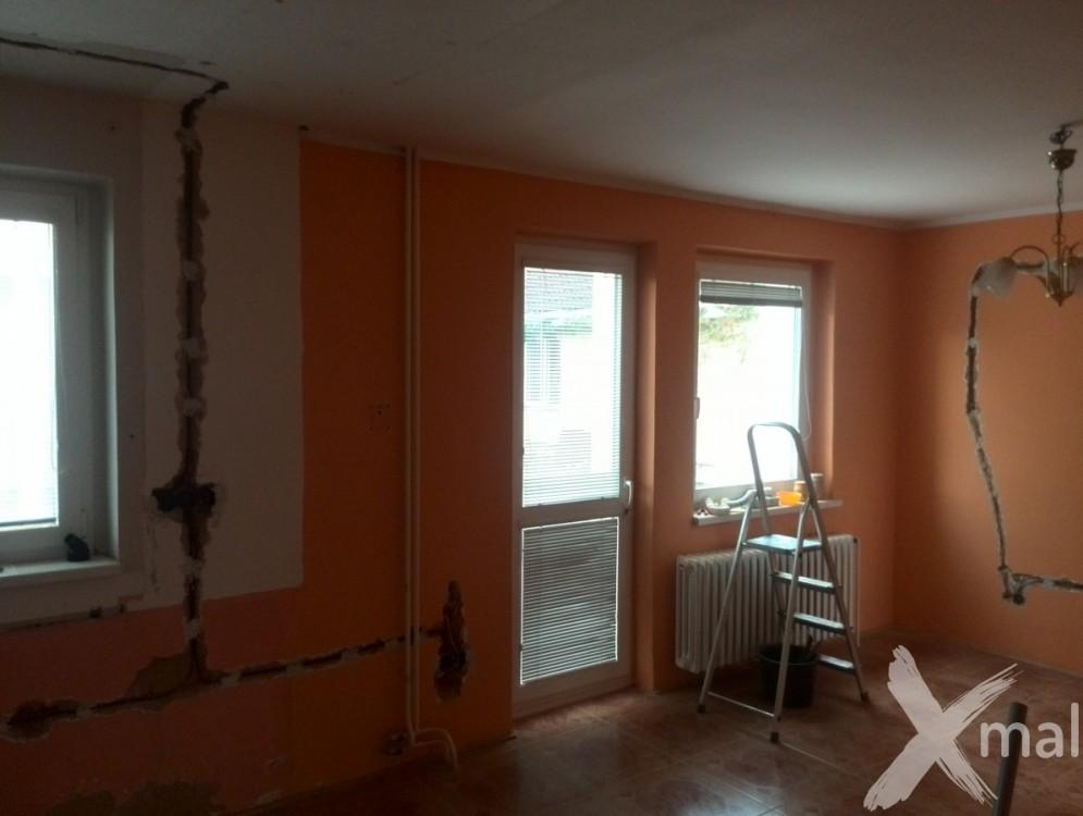 částečná rekonstrukce rodinného domu - spodní patro č.2