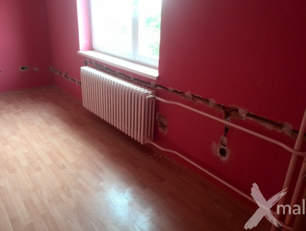 částečná rekonstrukce rodinného domu - spodní patro č.7