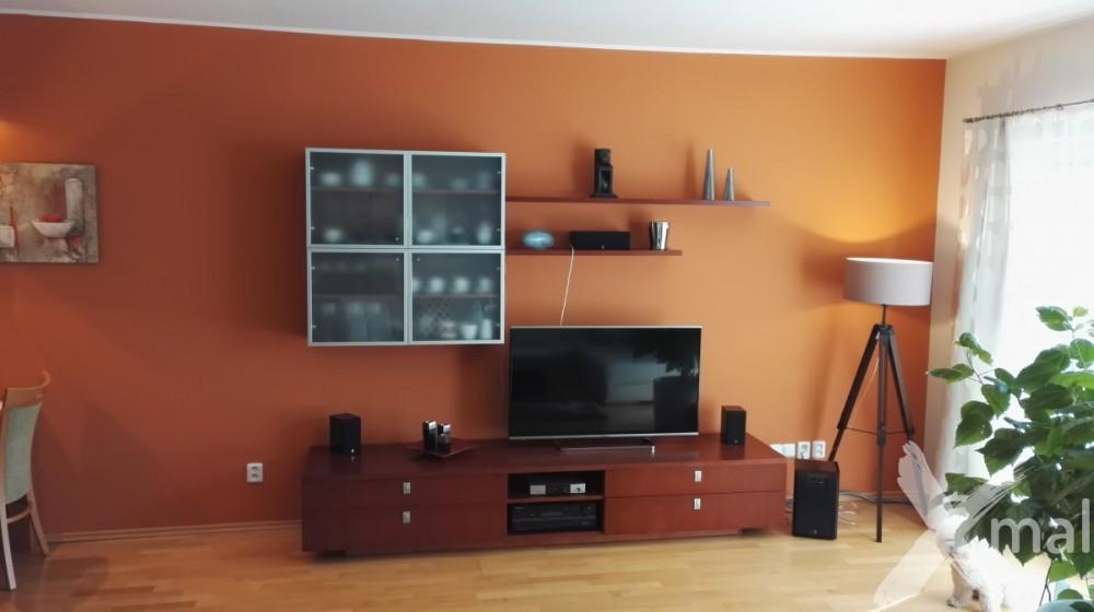 malování obývacího pokoje inspirace