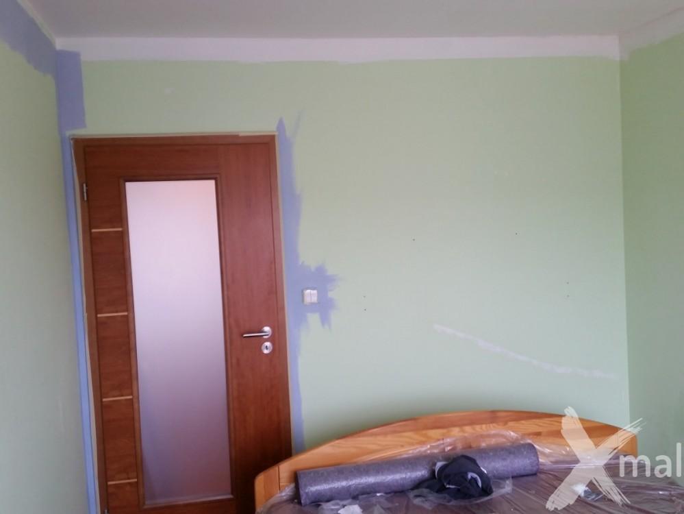 dětský pokoj před malířskými pracemi