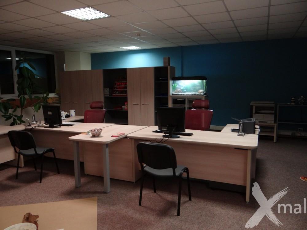 kanceláře po rekonstrukci výmalby
