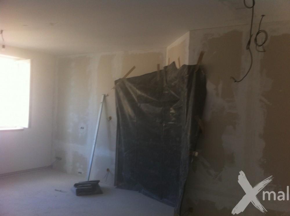 uzavření dokončených pokojů