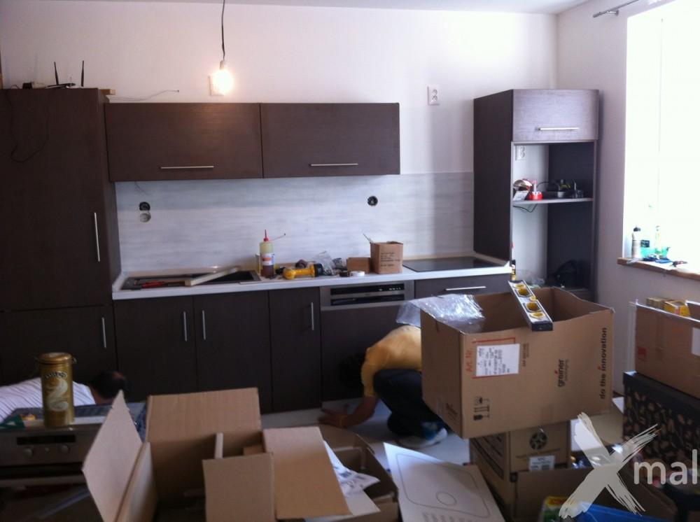 instalace kuchyně na míru 2