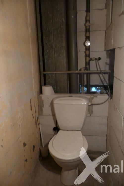 Průběh rekonstrukce záchodu