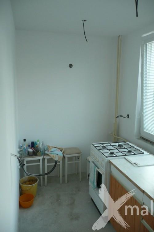 Průběh rekonstrukce v kuchyni