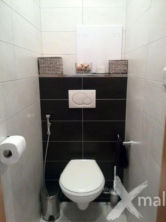 Rekonstrukce bytového jádra - záchod
