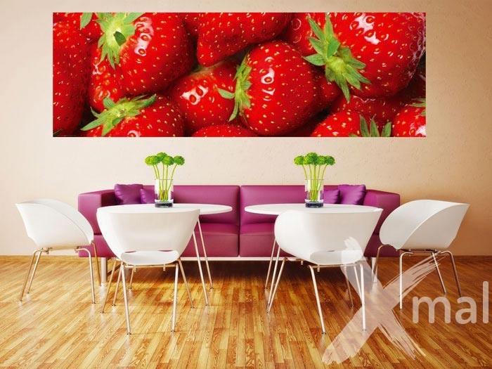 Fototapeta na zeď - jahody