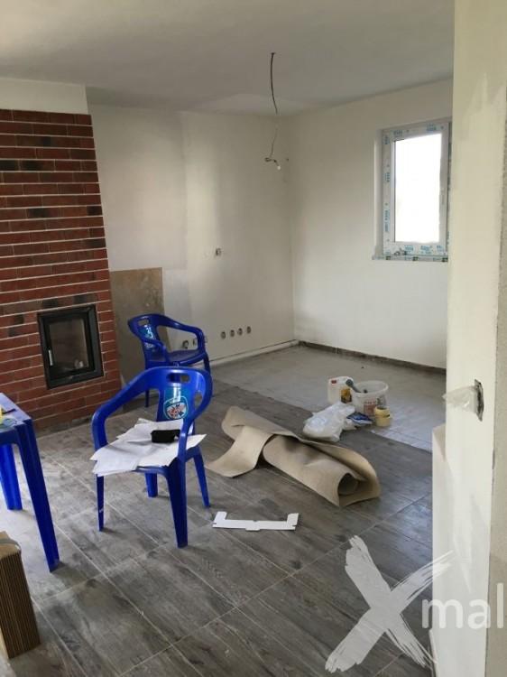 Malování obývacího pokoje