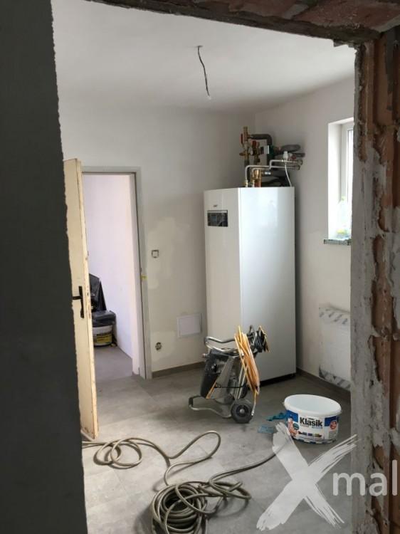 Malování technické místnosti 2