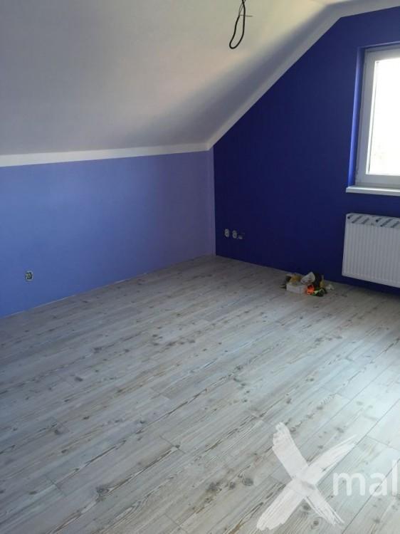 Malování dětského pokoje - inspirace modrá