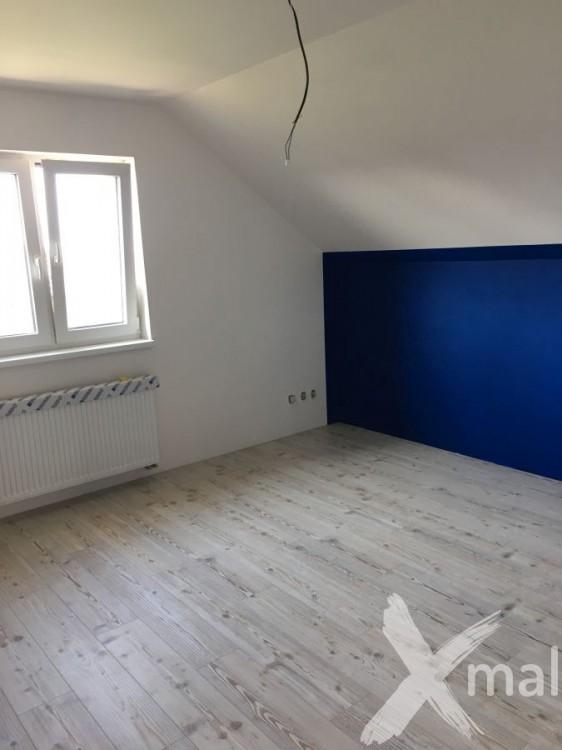 Malování pokoje - inspirace modrá