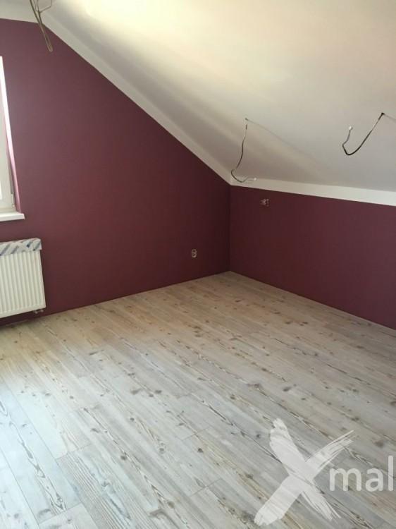 Malování ložnice - inspirace fialová