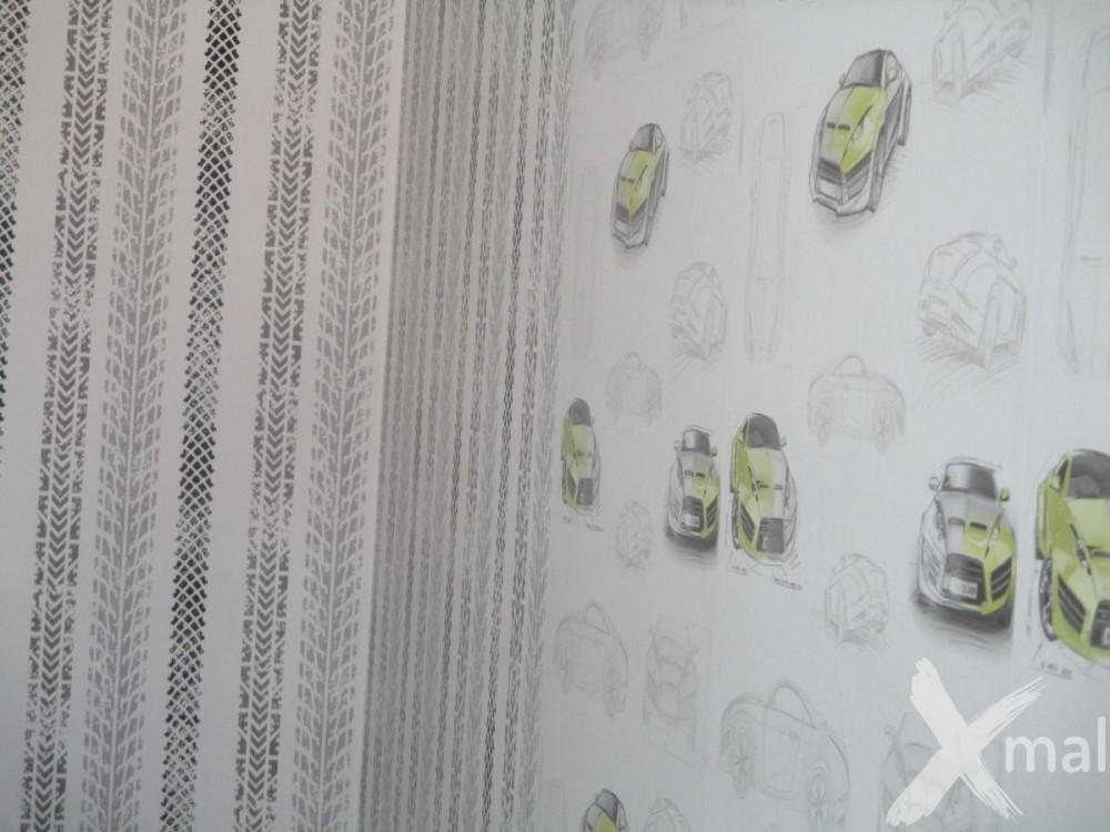 vliesová tapeta na zeď - auta