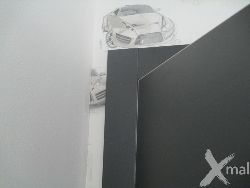 lepení tapet kolem dveří