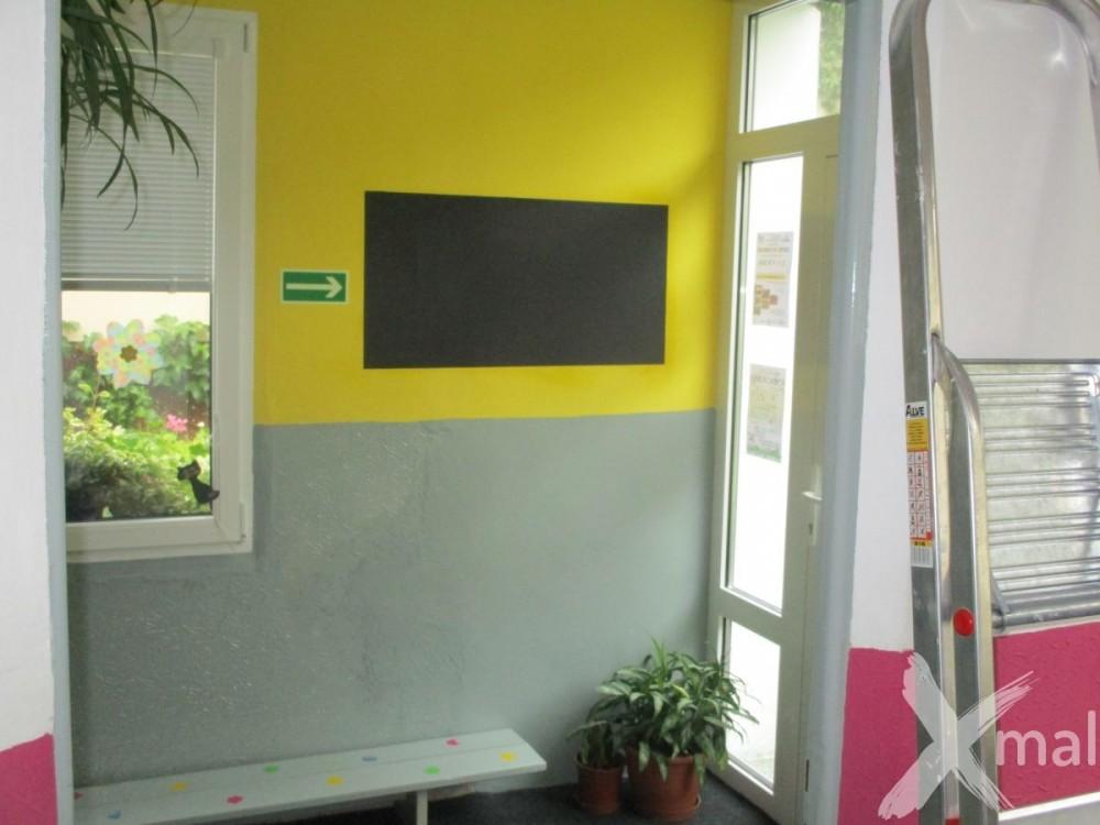 malování vstupních prostor