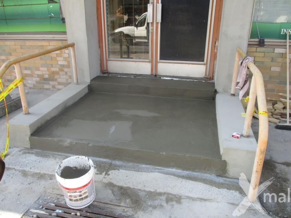 Nová betonová podlaha