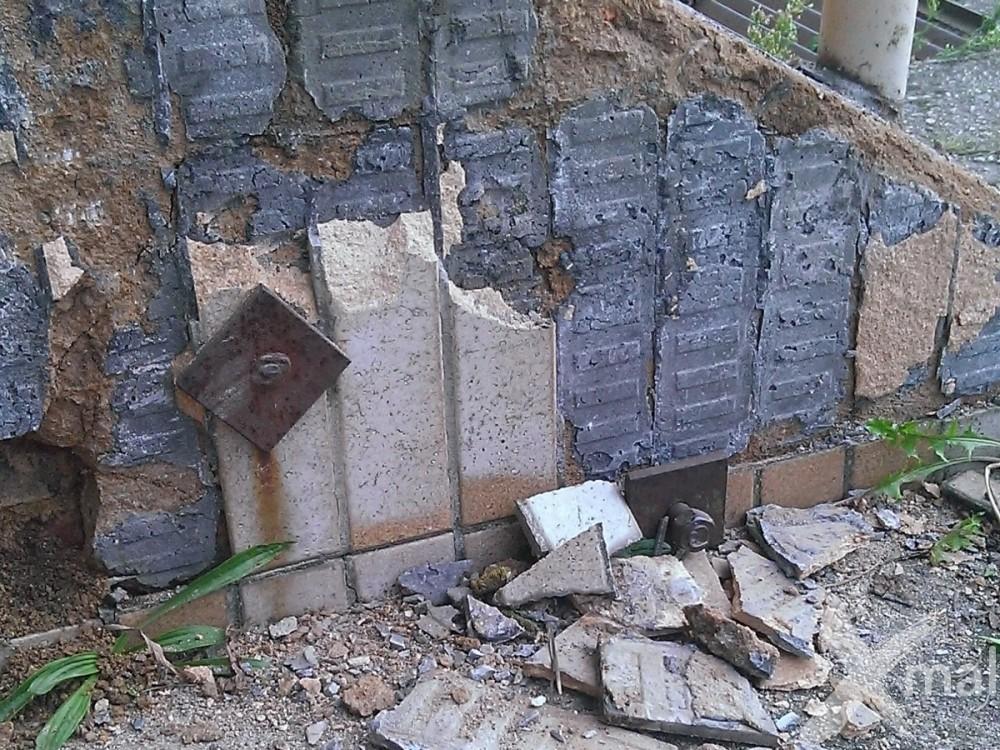 Bourací práce původního schodiště