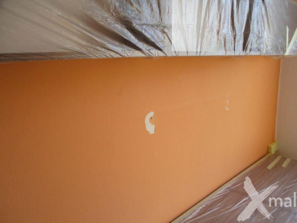 Poškozená malba před malováním