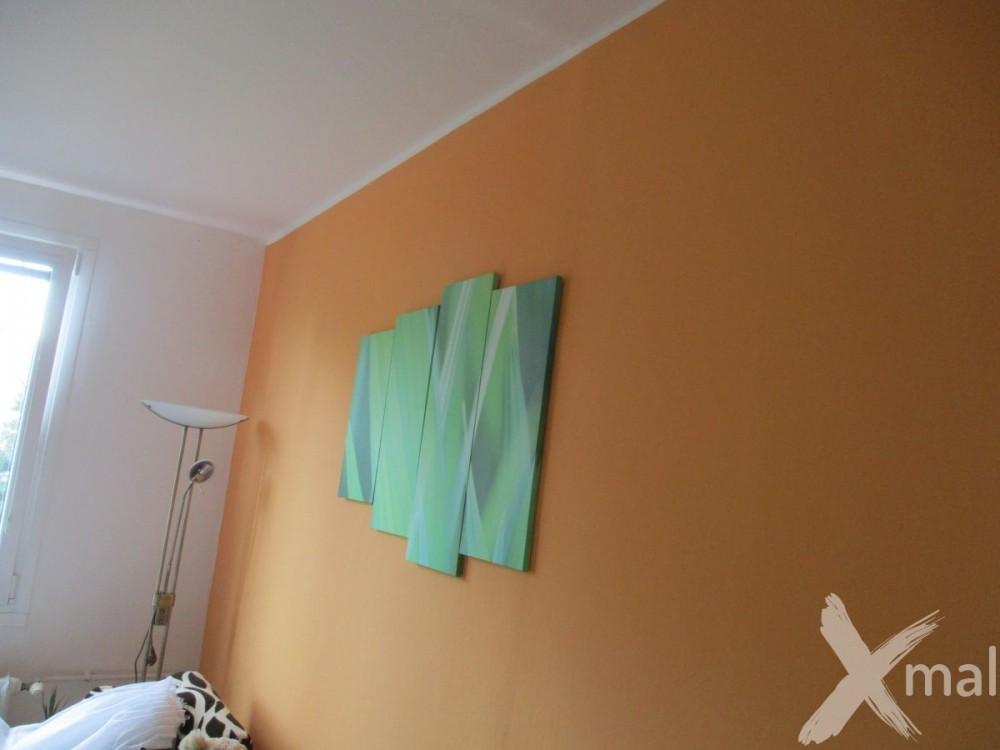 Malba v obývacím pokoji
