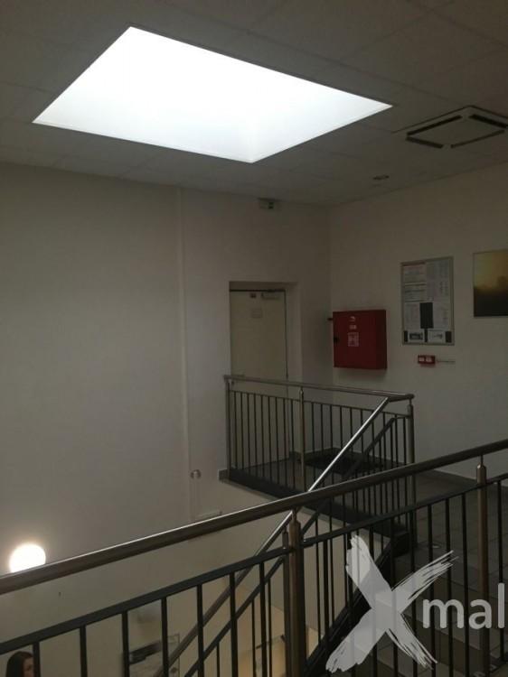 Prostor schodiště před malováním