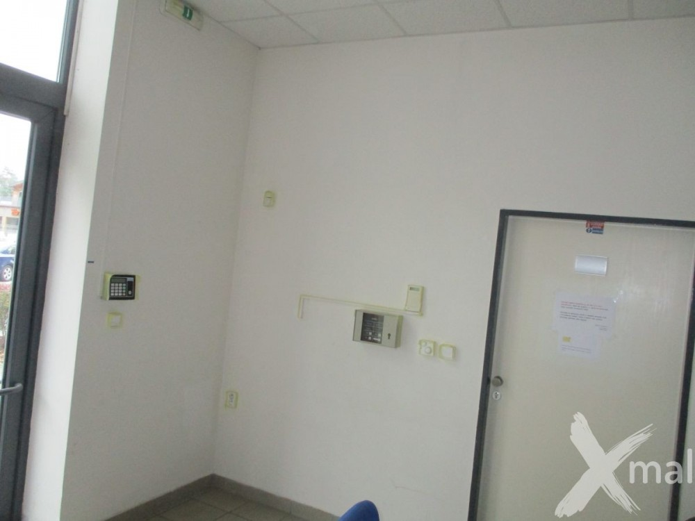 Vstupní prostory před malováním