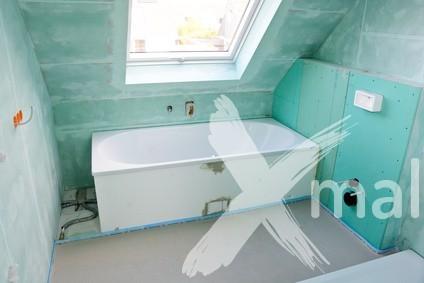 Montáž sádrokartonu do koupelny