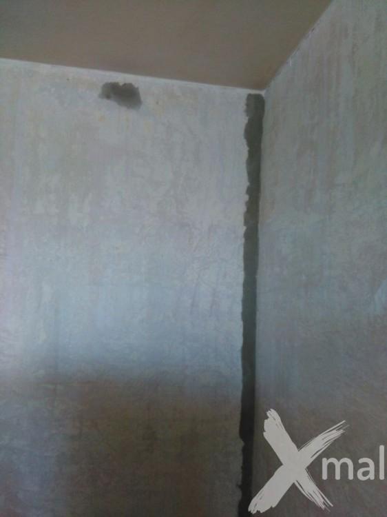 Oprava zdí před malováním 3
