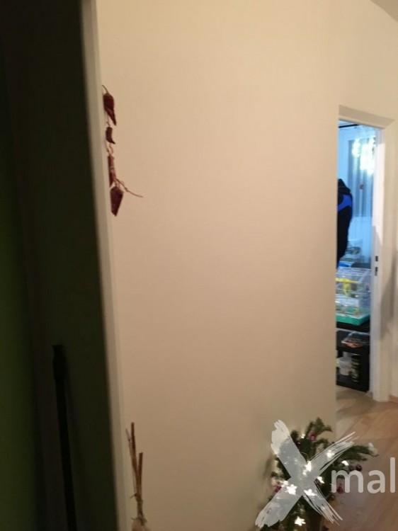 Zazděný a začištěný původní vchod do ložnice