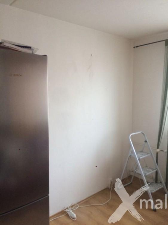 Zeď v kuchyni před tapetováním
