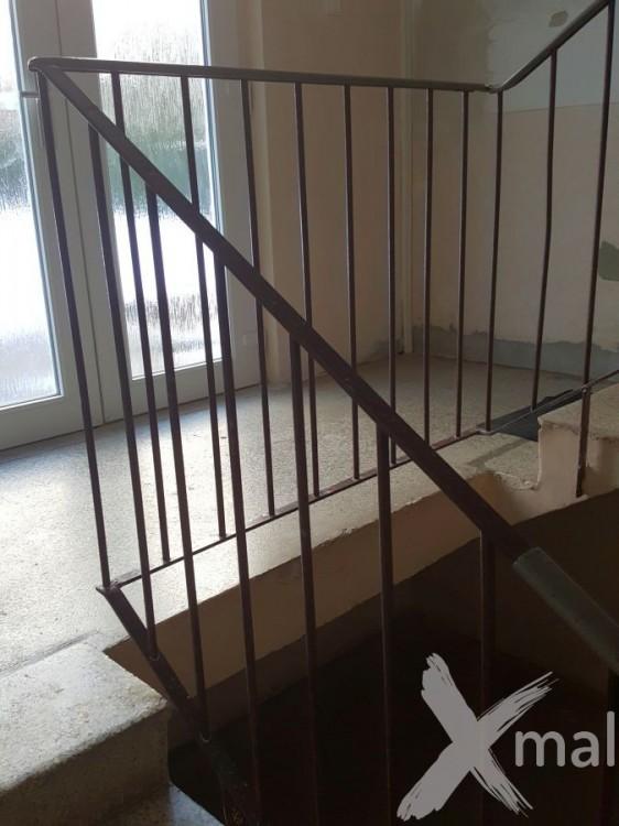 Podesta schodiště před položením dlažby