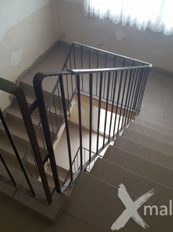 Nově obložené schodiště