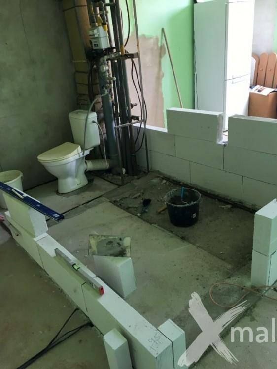 Založení zdí bytového jádra