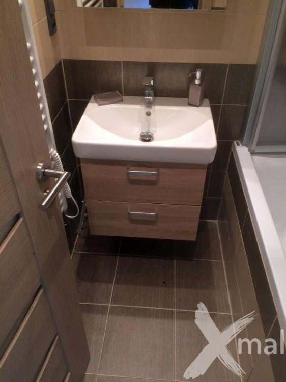 Rekonstrukce koupelny v bytě
