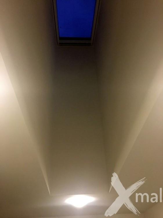 Malování vysokých stropů