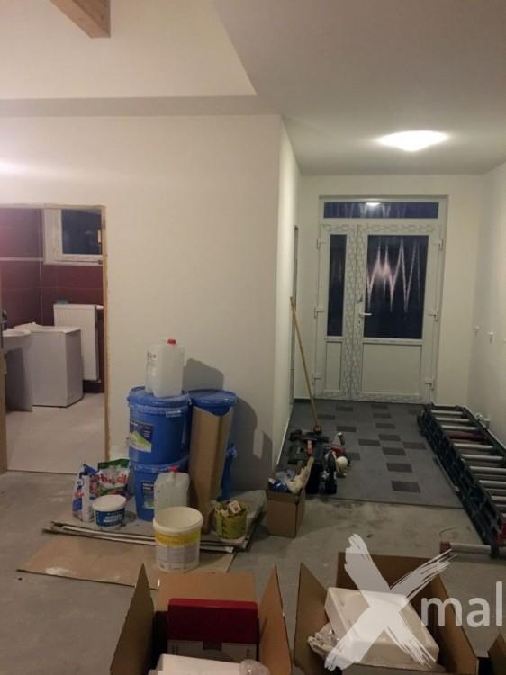 Airless malování bytu