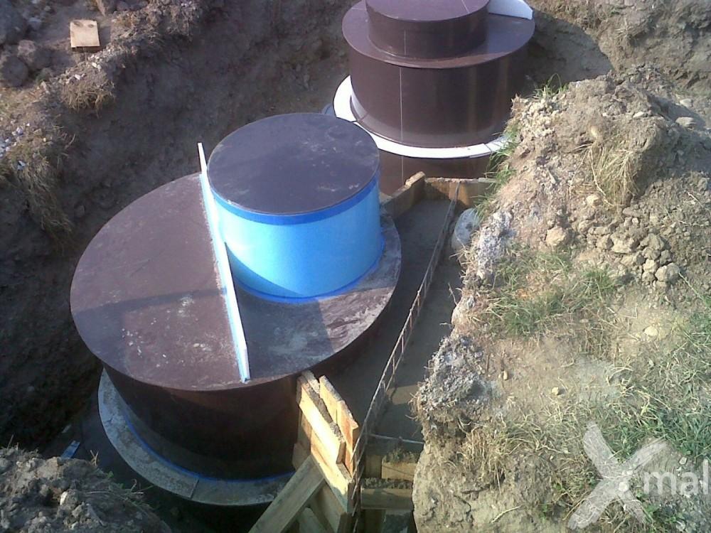 Vodovodní a kanalizační šachty