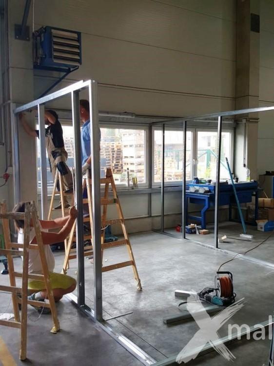 Výstavba nové kanceláře