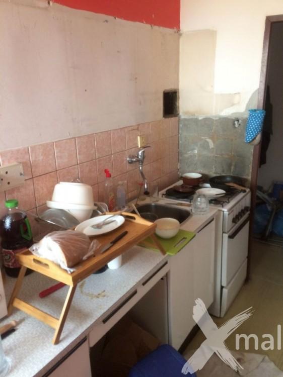 Kuchyňský kout před rekonstrukcí bytu č.1