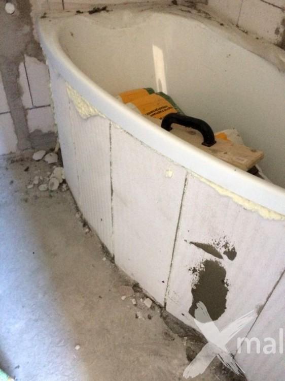 Rekonstrukce koupelny v bytě 2