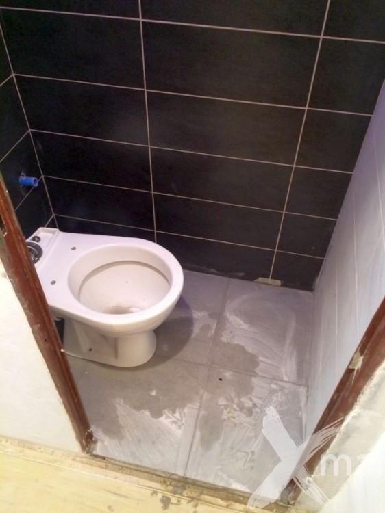Rekonstrukce WC v bytě