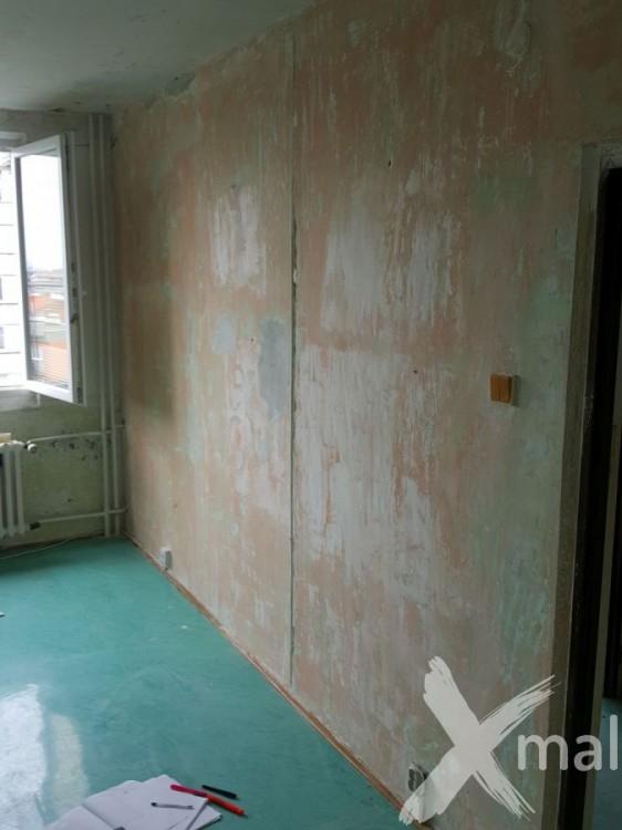 Průběh rekonstrukce bytu