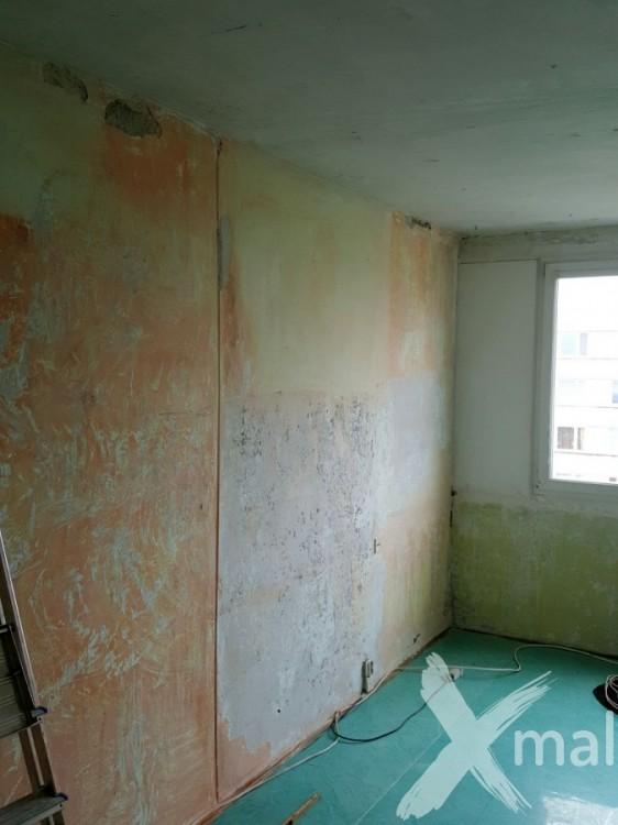 Průběh rekonstrukce bytu č.2