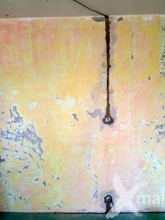 Rozvody elektroinstalace v rekonstruovaném bytě č.2
