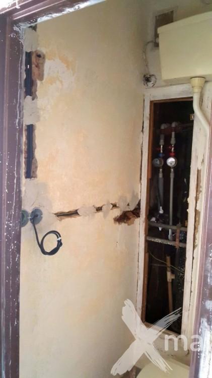 Rozvody elektroinstalace v rekonstruovaném bytě č.5