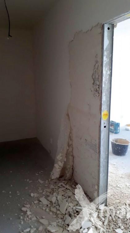 Rekonstrukce stěn v novostavbě